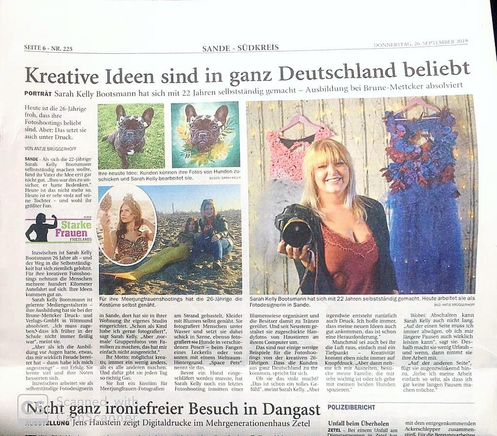 Fotostudio Boosaky Fotoshooting Fotograf Fotografin Friesland kratives kreativMärchen fairytale make up styling